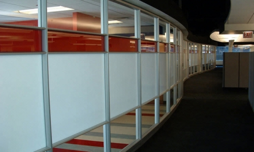 Coloured Glass Partitions 700x500